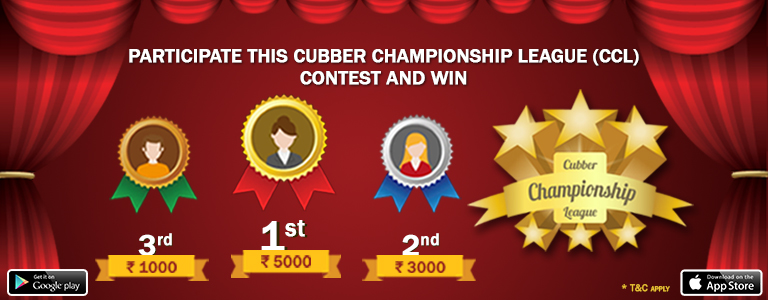 Cubber Championship League (CCL) Contest and Win