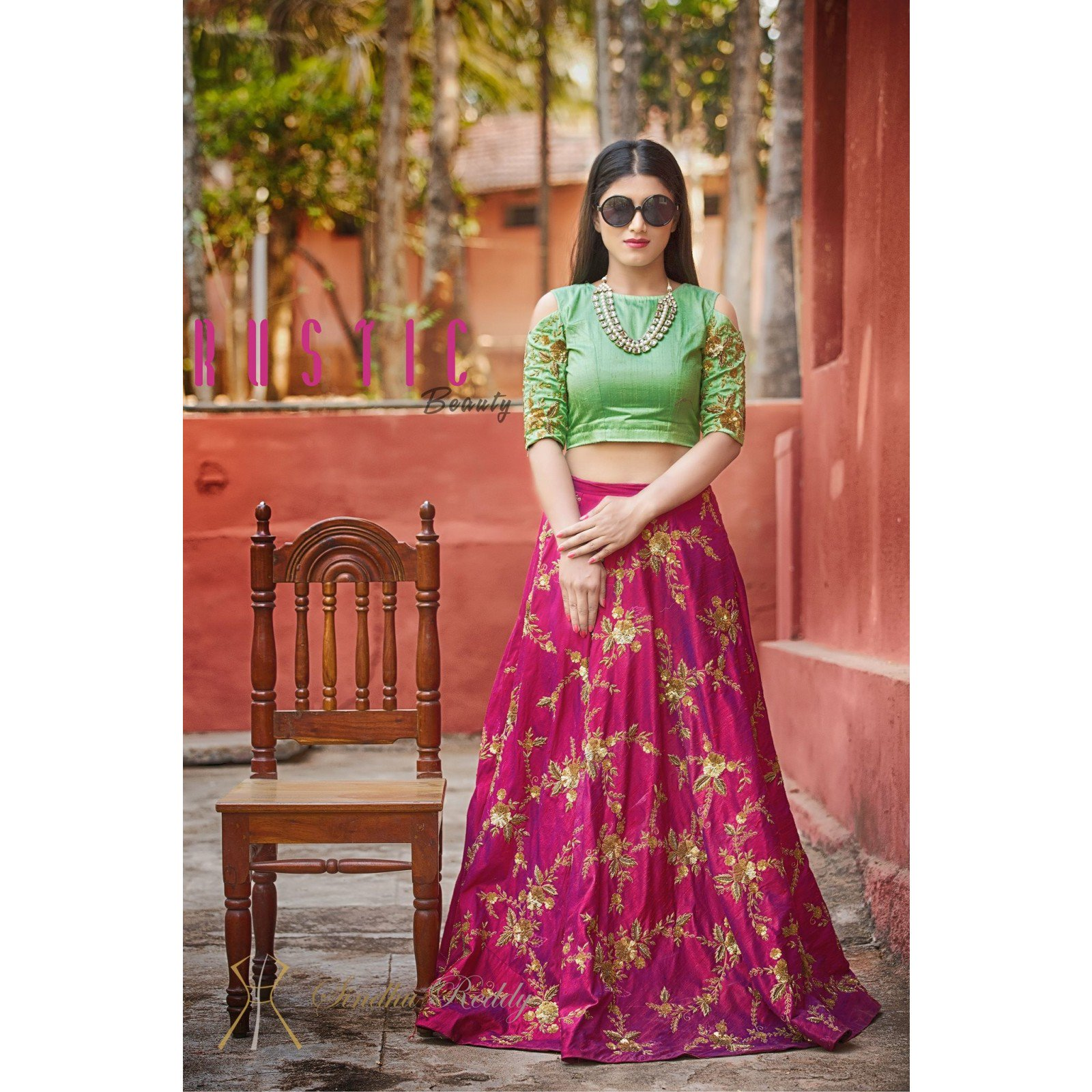 Banarasi Silk Lahenga Color