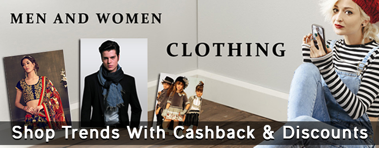Clothing fashion online trends latest cashback offer discount sale