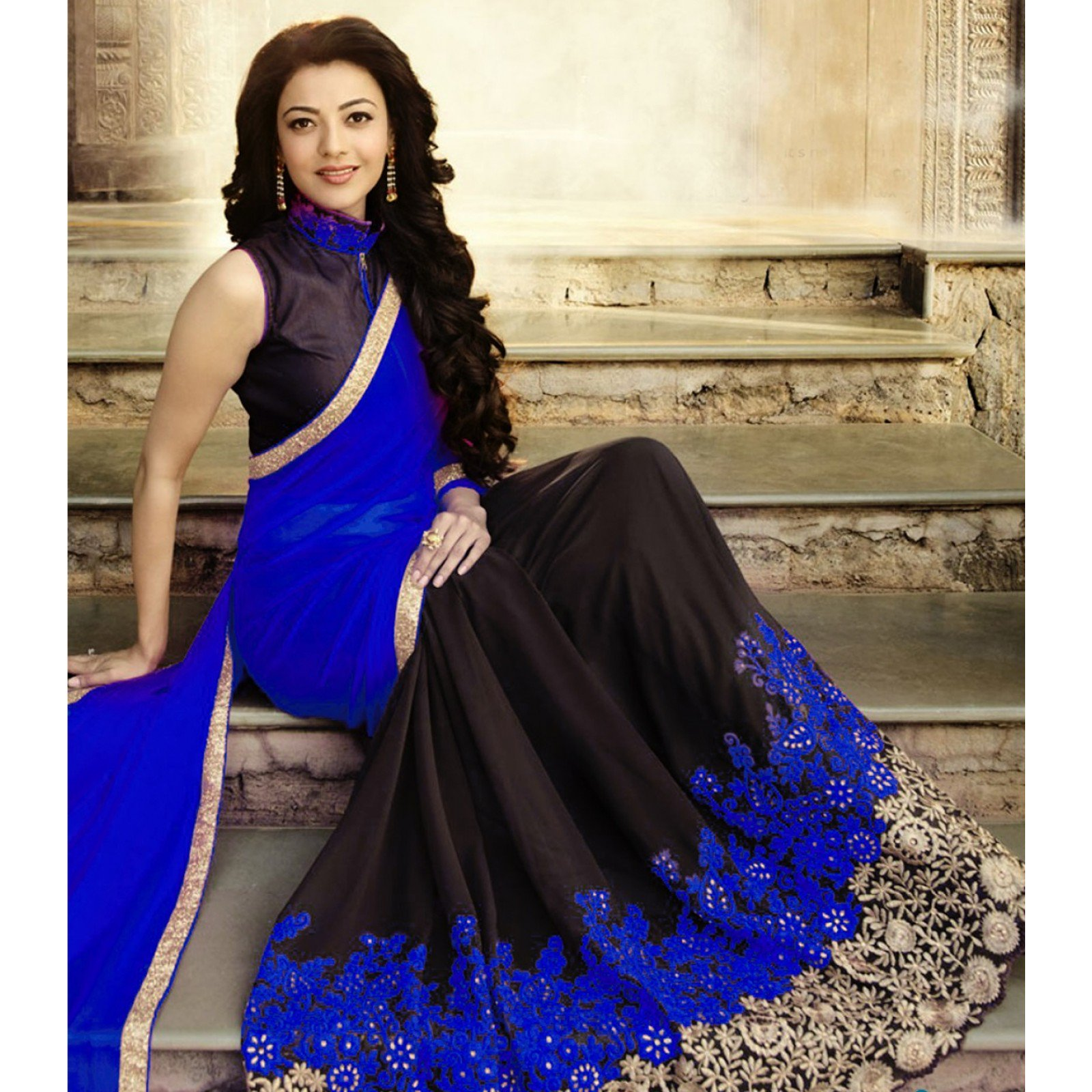 Embroidered Bollywood Georgette Saree Collection