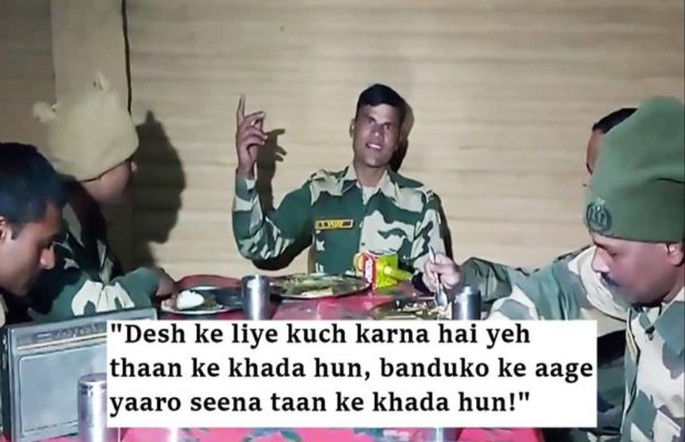 Our  Jawans are always ready to sacrifice their lives to keep us safe