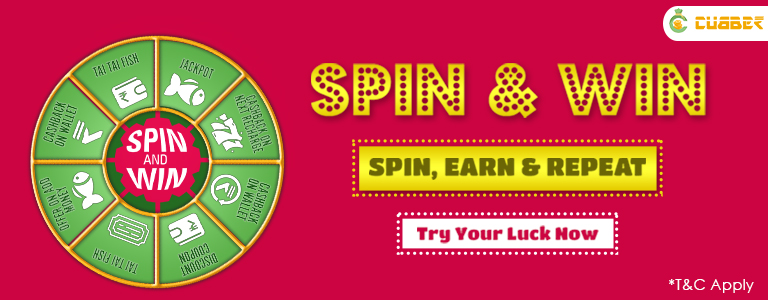 Spin and Win Easy way to get Amazing Discounts, Deals and Cashback