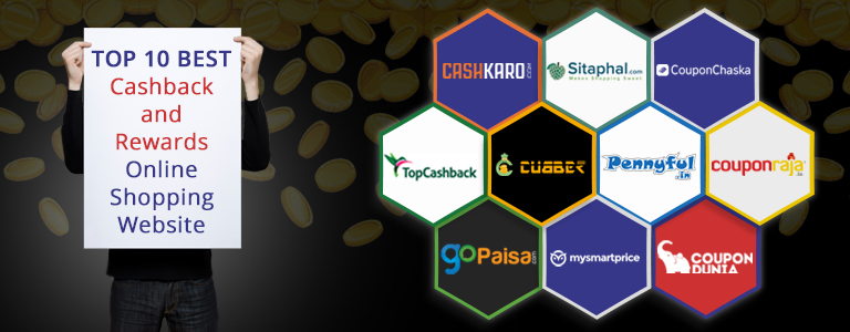 Top 10 Best Cashback Rewards Online SHopping Website