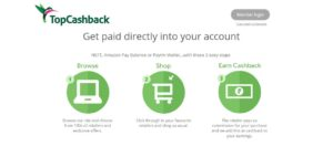 TopCashback Online Shopping Offers