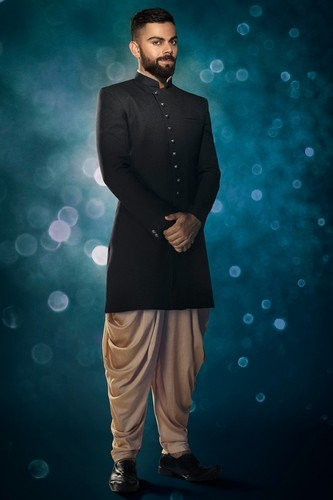 Elegant Black Indo Western Attire Wedding Collection