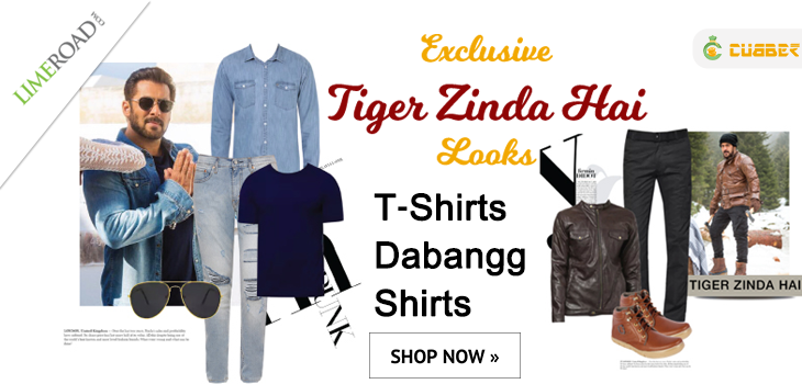 Exclusive Tiger Zinda Hai Salman Khan Looks Clothes For Men