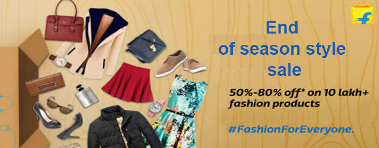 Flipkart End of Year Sale on Fashion Style