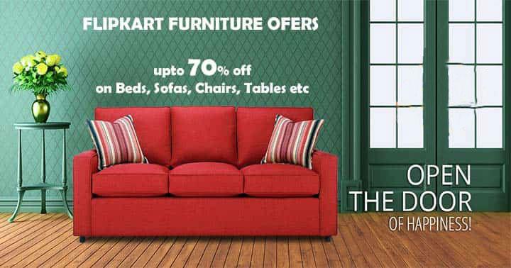 Flipkart Furniture New Year Sale Offers