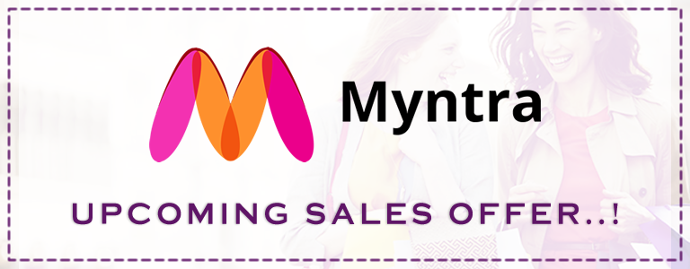 Myntra Upcoming Online Sale Offers Date