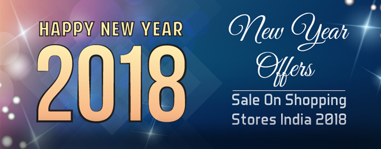 New Year 2018 Online Shopping Sale Offers