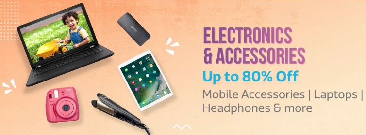 New Year Offers on Electronics and Accessories