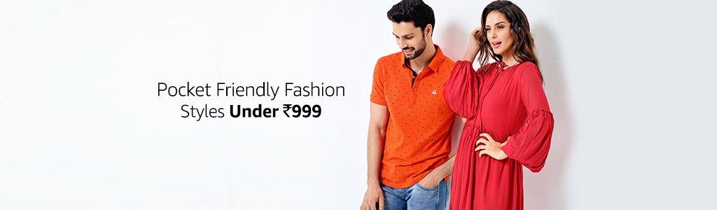 Pocket Friendly Fashion styles On Amazon