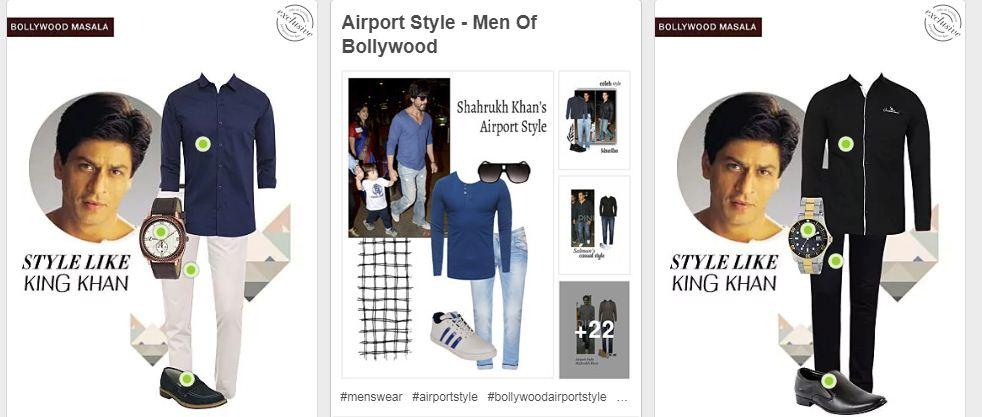 Sahrukh Khan Airport Styles