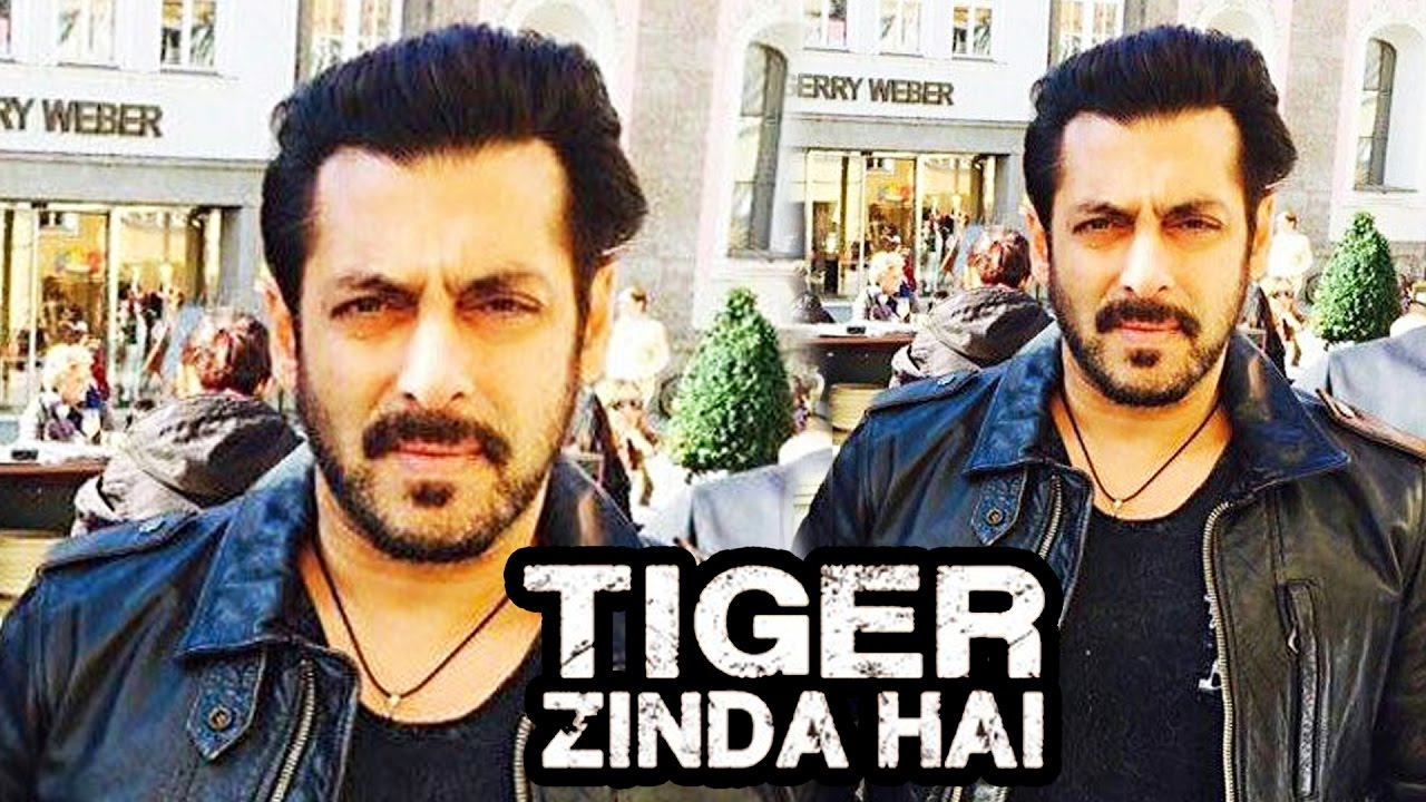 Salman Khan Tiger Zinda Hai Movie Look With Jacket