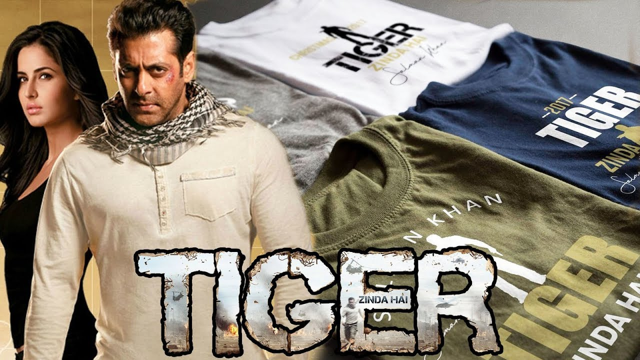 Salman Khan Tiger Zinda Hai T-Shirt Looks