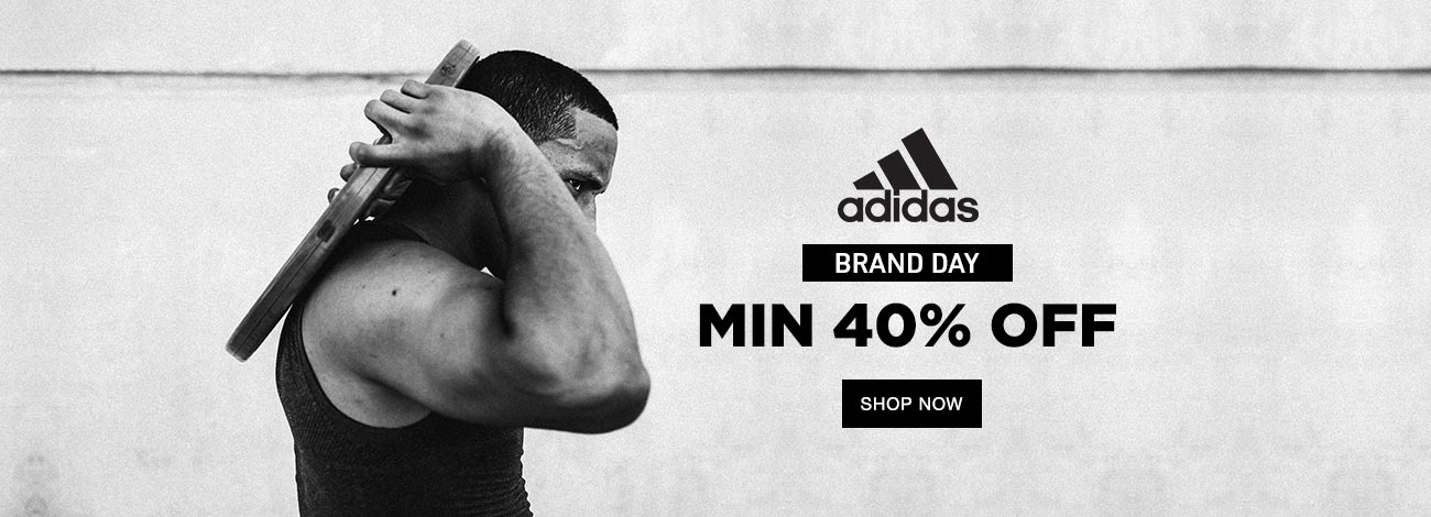 Jabong  Adidas Brand Day Min 49% Off
