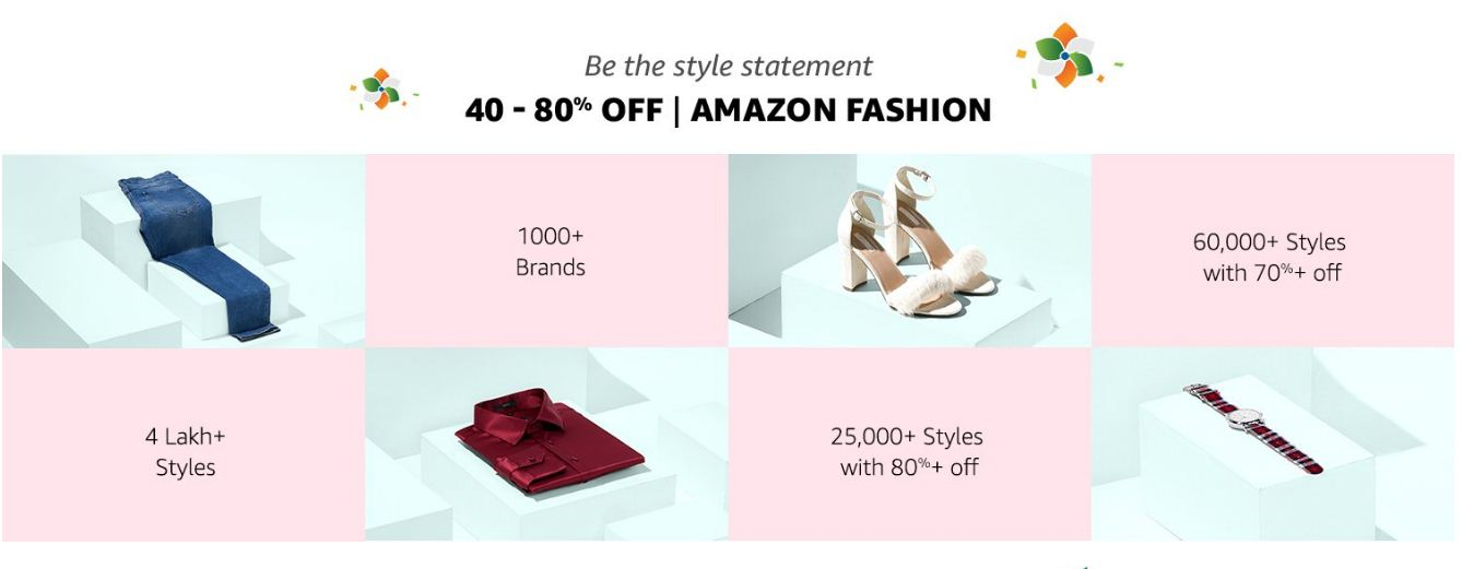 Amazon Fashion Clothes Up to 80% Off