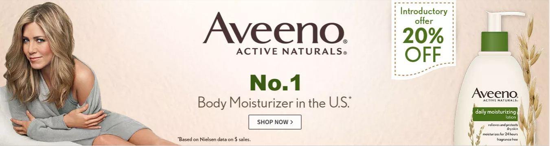 Aveeno Active Naturals Moisturizer