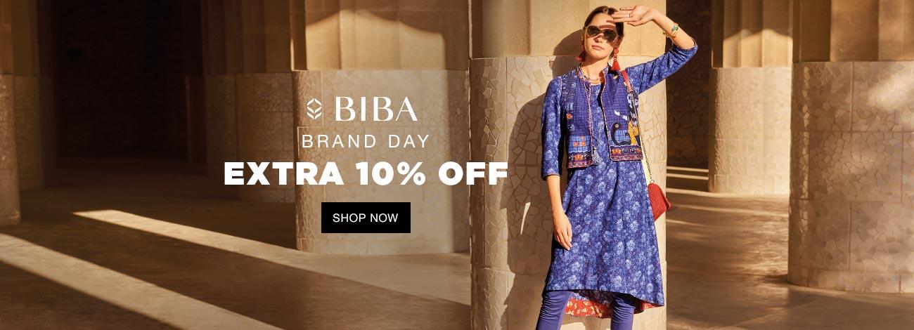 Jabong  Biba Brand Day Extra 10% Off