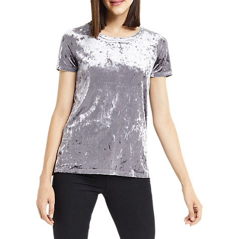 Buy Oasis Plain Velvet T-Shirt Collection For Womens