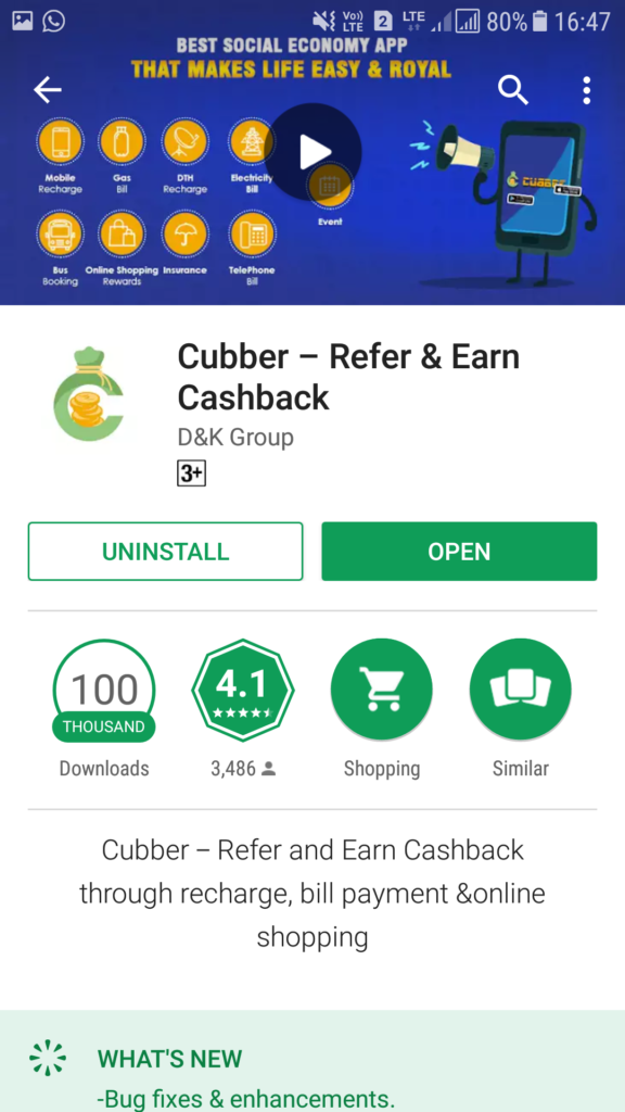 Download Cubber App Now