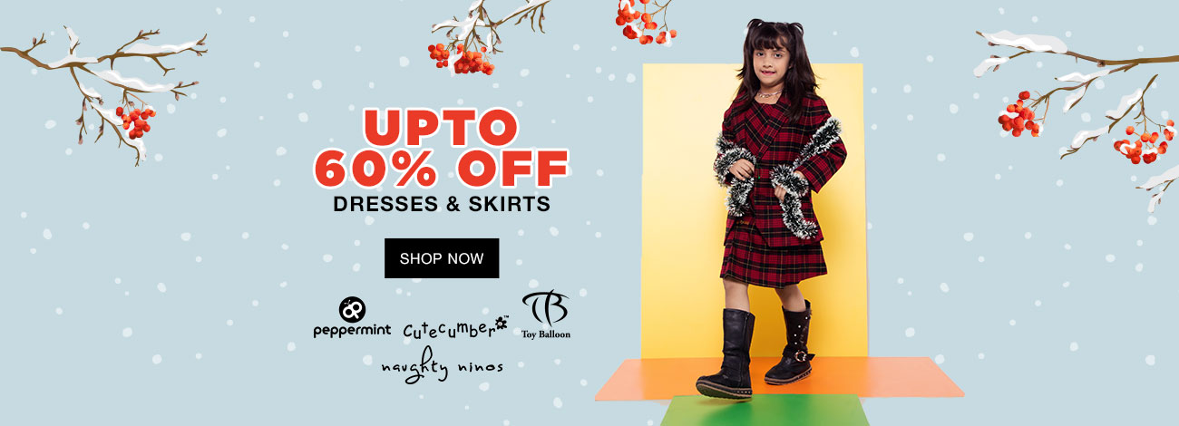 Jabong  Dresses and Skirt Up to 60% Off