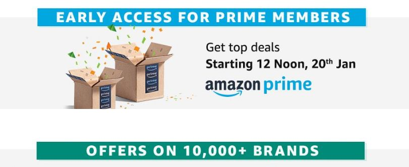 Amazon Earlier Access For Prime Member