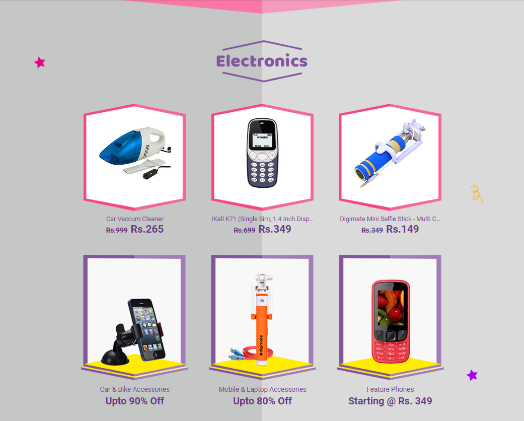 Electronics Products Offers Online At Shopclues