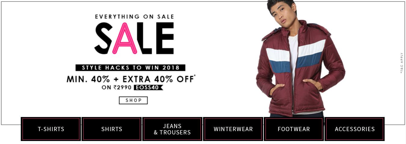 Everything On Sale For Men
