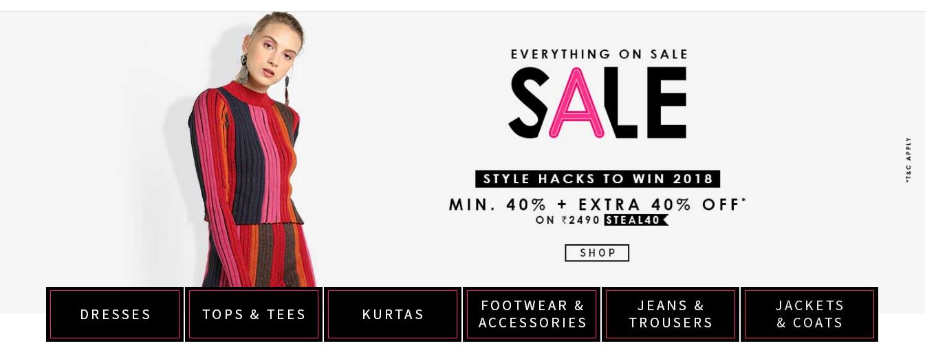 Everything On Sale For Women