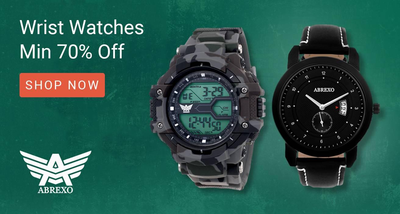 Flipkart Valentines Day Offers On Wrist Watches
