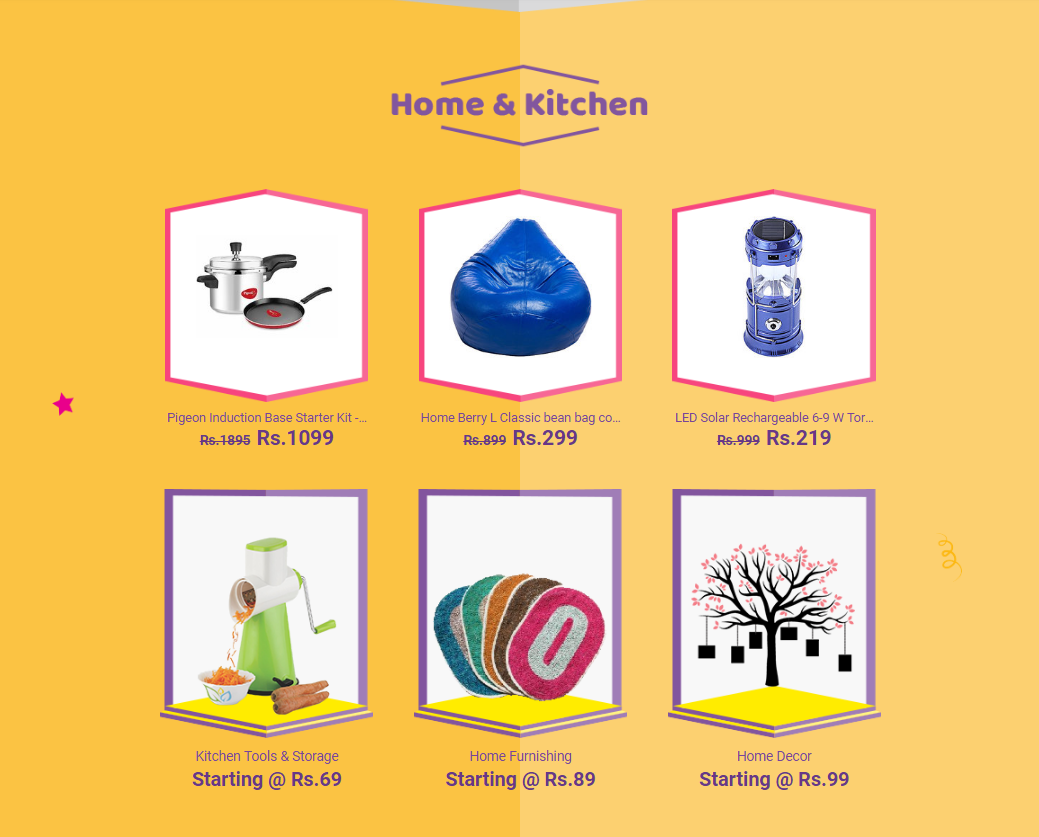 Home and Kitchen Products Offers Online At Shopclues