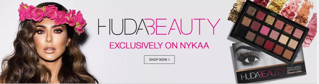 Huda Beauty Exclusive On Nykaa