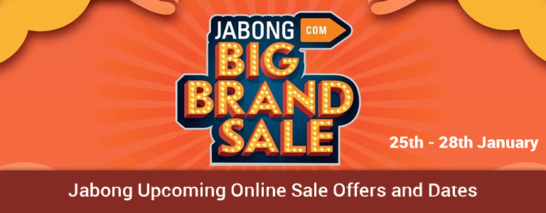 Jabong Upcoming Online Sale Offers and Date