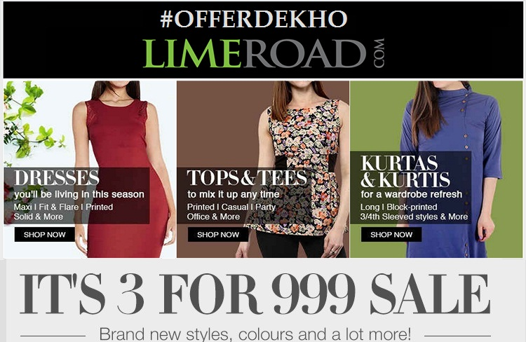 Limeroad Sale For Women Wear