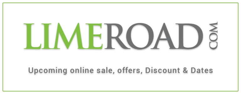 Limeroad Upcoming Online Sale Offers and Dates