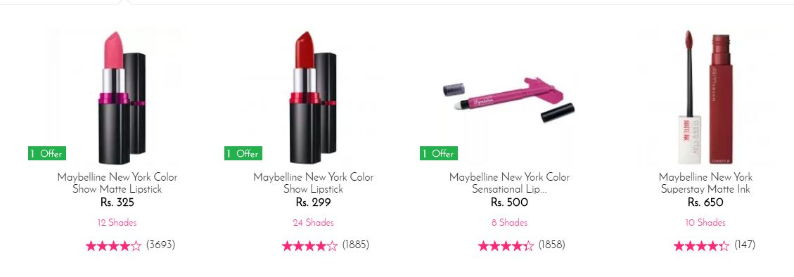Maybelline New York Color Lipstick