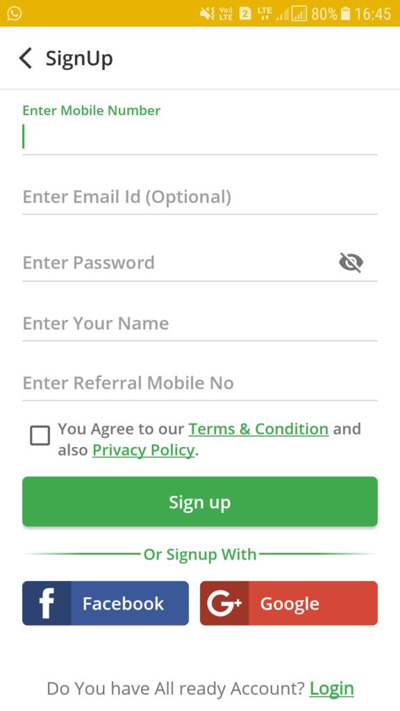 Register On Cubber App