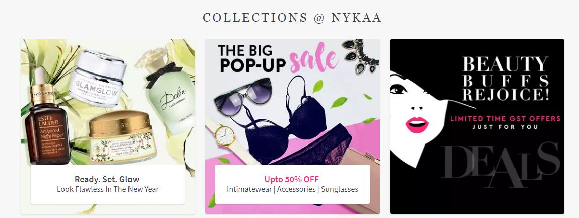 Top Offers Collection At Nykaa
