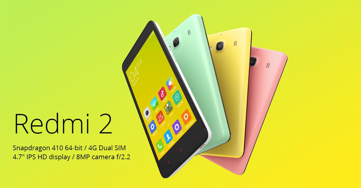 Xiaomi Redmi 2 Phone
