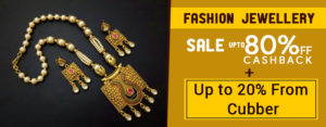 Fashion Jewellery Sale Up to 80% Off + Cashback Up to 20% From Cubber
